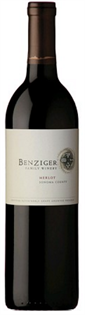 Benziger Family Winery Merlot Sonoma County 2013 750ml